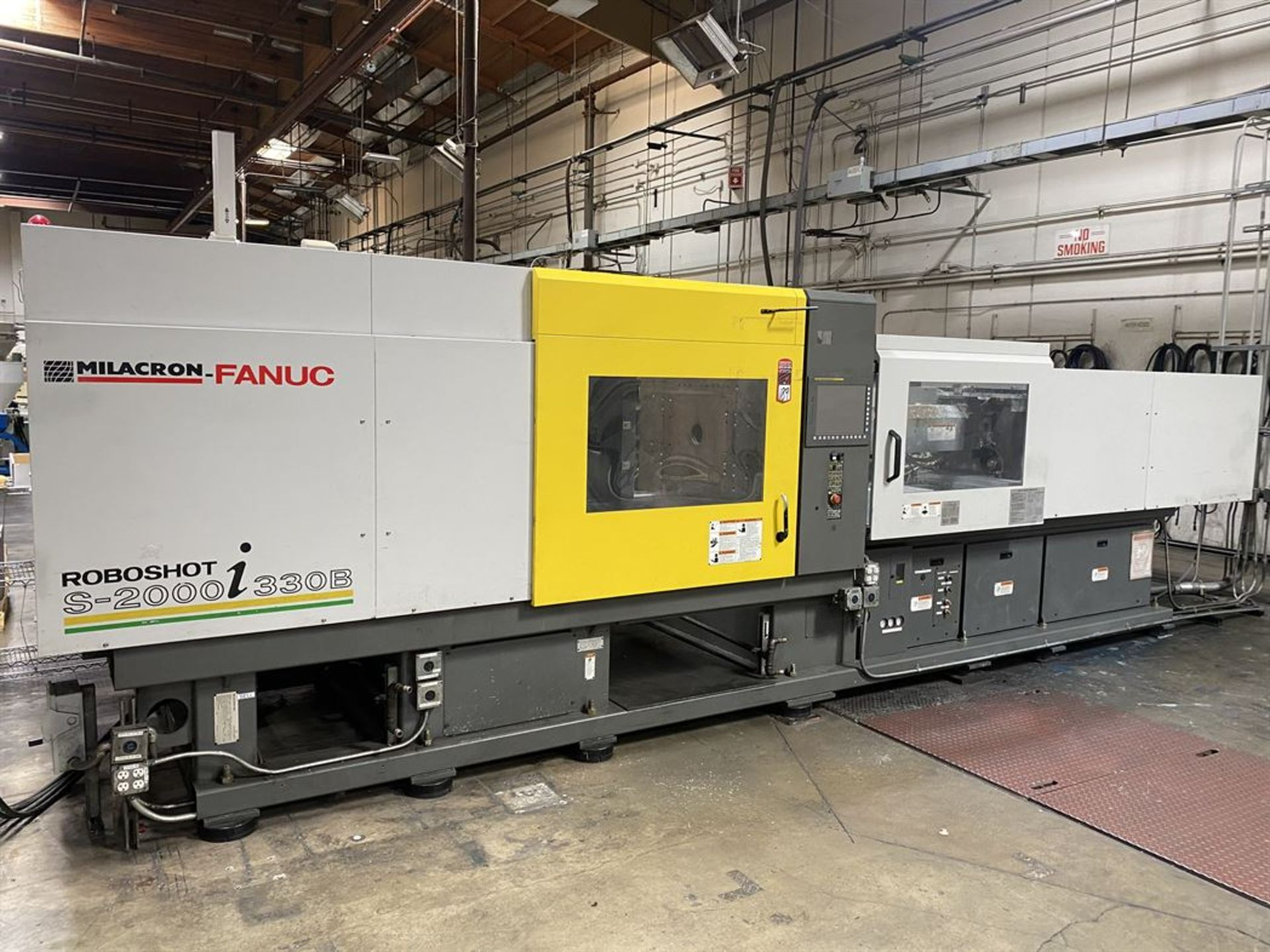 Lot 189 - 2007 CINCINNATI MILACRON FANUC RoboShot S-2000i 330B 330 Ton Electric Injection Molder, s/n