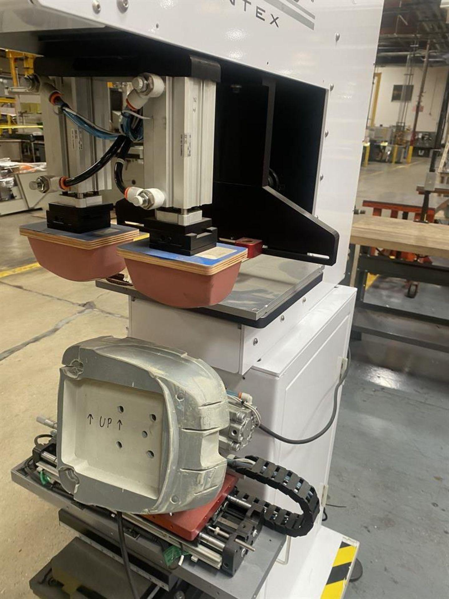 Lot 84 - Printex G8-150 MK II Multi-Function Pad Printing Machine, s/n na, Mitsubishi GOT1000 PLC