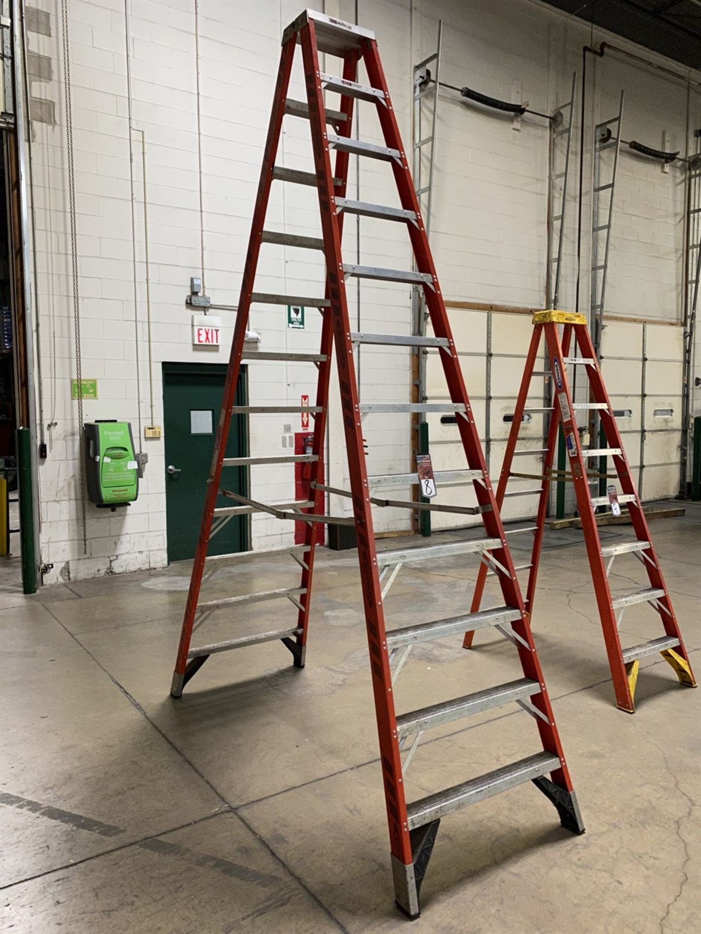 Lot 8 - WERNER 12' Fiberglass Ladder