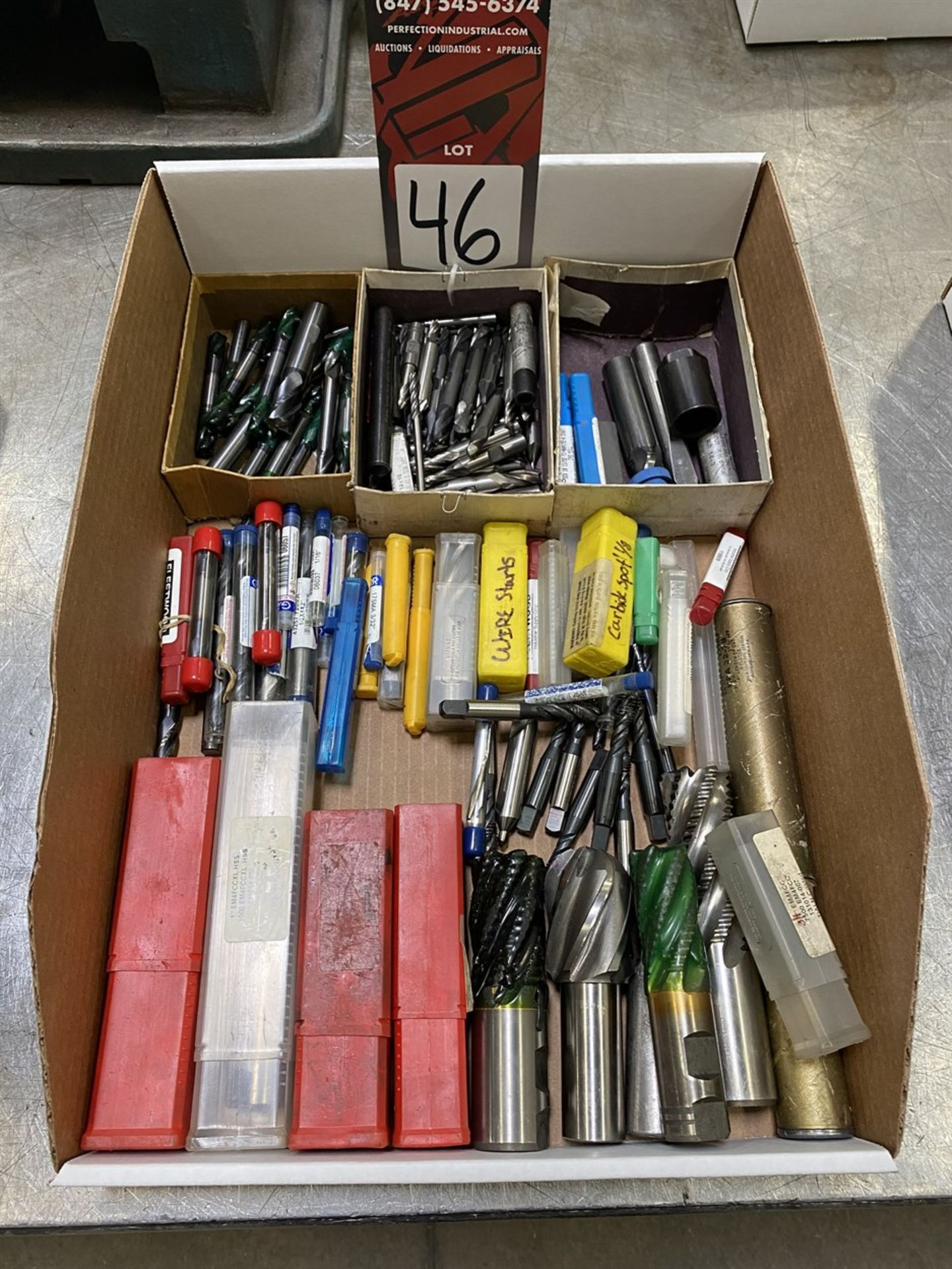 Lot 46 - Lot of Assorted Carbide Tooling
