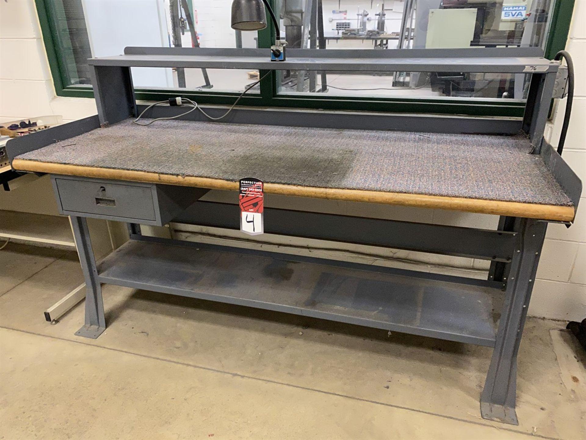 "Lot 4 - Wood Top Work Bench, 30"" x 72"""