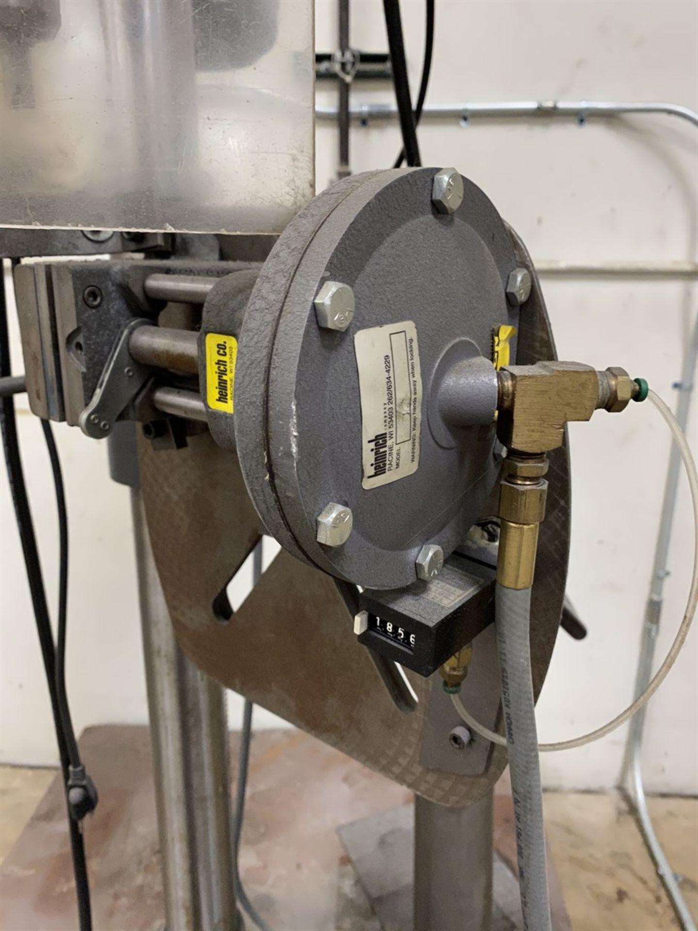 Lot 16 - RIDGID DP15501 Drill Press, s/n AM052443797, w/ Heinrich Pneumatic Vise