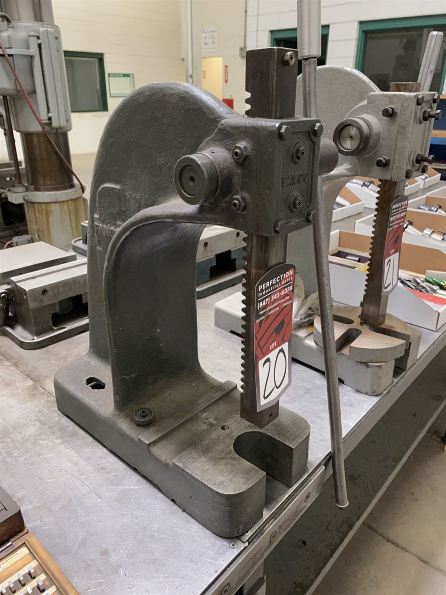 Lot 20 - FAMCO #3 Benchtop Arbor Press