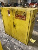 Justrite Approx. 45 Gal Flammable Liquids Cabinet