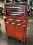Unknown Make Rolling Tool Chest w/ Tool Box