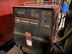 Lincoln Power Wave 455M Welding Power Source, s/n U1071012256