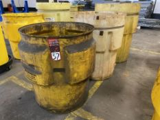 Lot of (3) Oil Spill Containment Drums