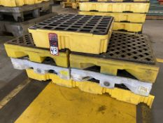 Lot of (5) Oil Spill Containment Platforms
