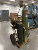Torch Cart Set w/ Hose, Gauges, and Torch, (Tanks Not Included)