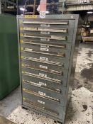 LISTA 11-Drawer Ball Bearing Tool Cabinet