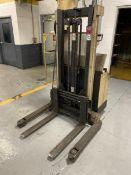 CROWN 30WTL-S Walkie Stacker, s/n 6A167508, 2700 Lb. Capacity