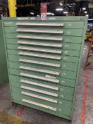 NU-ERA Modular Draw Systems 12-Drawer Ball Bearing Tool Cabinet