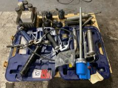 Lot of Assorted Grease and Lube Guns