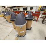 (3) WIREPAC SuperMIG70 Welding Wire Drums, 0.9 mm & (1) ADVANTAGE MIG Welding Wire Drum (Partial)
