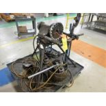 RIDGID 300 Pipe Threader w/ Tripod c/w Attachment, Pipe Stands & Cart