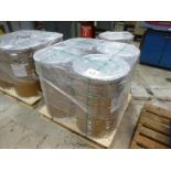 (4) WIREPAC SuperMIG70 Welding Wire Drums, 0.9 mm, 550 lbs. ea. (NEW)