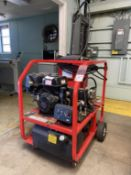 HOTSY 1075BE Pressure Washer, s/n 11105660-101258, 3500 PSI, 385,800 BTUin, 225 Degree F Max Temp,