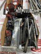 Lot of Assorted Allen Keys