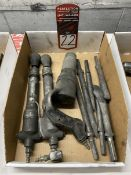 Lot of Assorted Pneumatic Chisels
