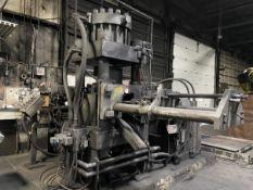 ADVANCED MACHINE 530-2230 Billet Shear, s/n 7905, Allen Bradley PanelView Plus 400 PLC Control,