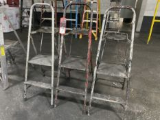 Lot of (3) Step Ladders