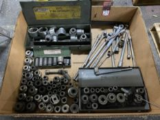 Lot of Large Sockets and Drives