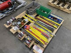 Lot of Assorted Hole Saws and Masonry Bits
