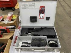 Lot Comprising THOMAS and BETTS Smart Battery Powered Hydraulic Tools W/ Chargers