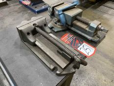 """Lot Comprising PALMGREN 4"""" Vise and (1) 6"""" Speed Vise"""