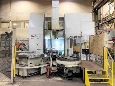 2009 GIDDINGS & LEWIS MAG VTC-1600 CNC Vertical Turning / Milling Center, s/n 524-0093, w/ SIEMENS