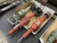 Lot of (3) Pneumatic Horizontal Wheel Grinders