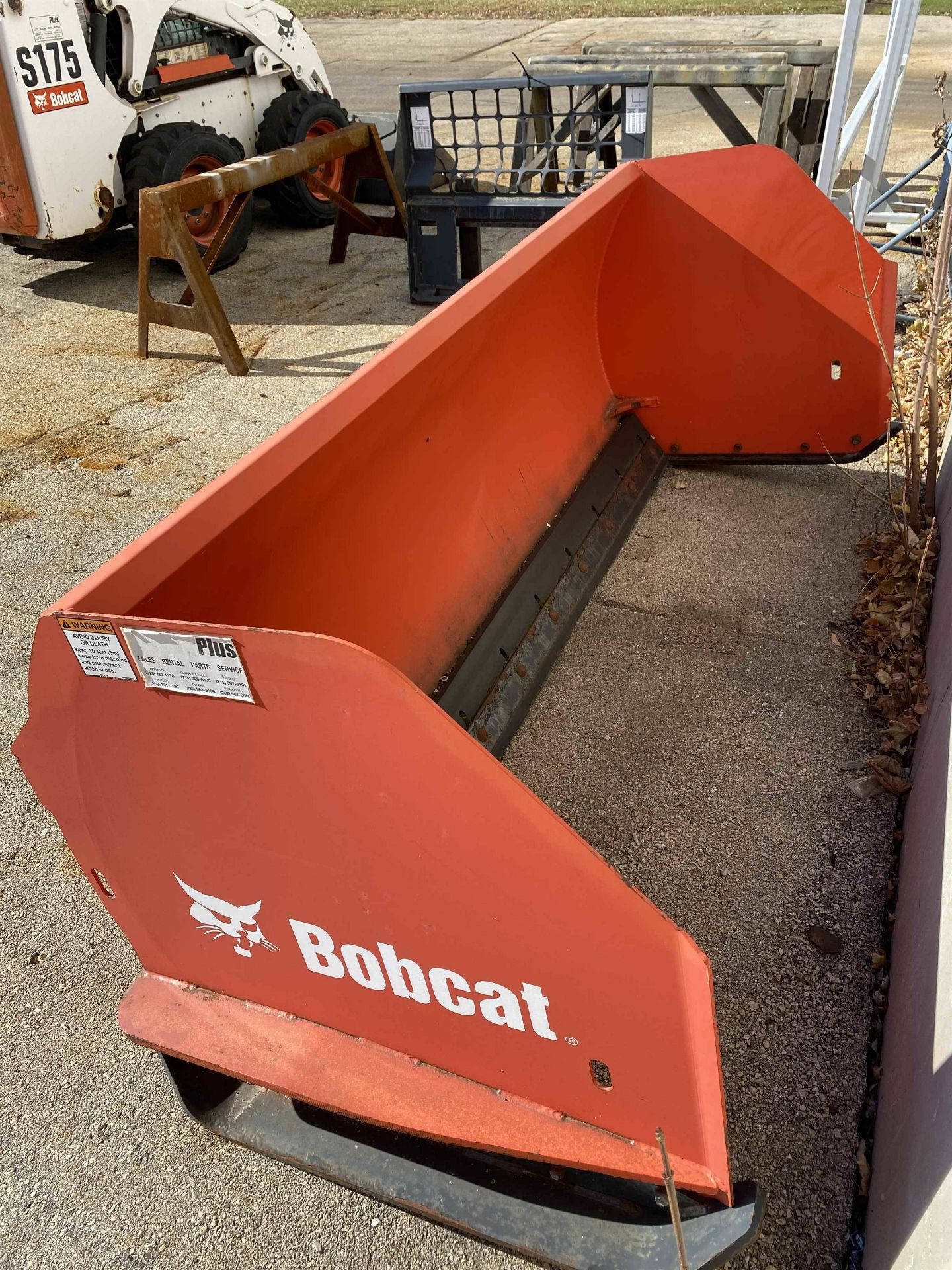 2010 BOBCAT Snowpusher 94, s/n A01500836 - Image 2 of 3