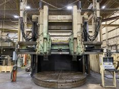 "GRAY 144"" CNC Vertical Boring Mill, s/n 9927, w/ G & L 8000 CNC Control, 151"" Max. Swing, 144"""