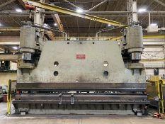 """CHICAGO DREIS & KRUMP 1000VC18 1,000 Ton Hyd. Press Brake, w/ 22' Bed, 18'5"""" Between Housings, 18"""""""