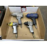 "Lot Comprising Assorted 3/8"" and 1/2"" Pneumatic Impact Guns"