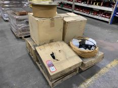 Lot of NEW Welding Wire Spools and Drum Hats