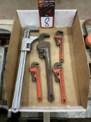 Lot of Assorted Small Pipe Wrenches