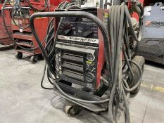 LINCOLN WELDANPOWER 225 G7 Portable Welder/Generator, s/n A1162155