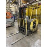 HYSTER E35HSD Electric Forklift, s/n A219N03022E, 3,500 Lb. Capacity, 36V, w/ GNB FLX200 Charger