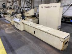 "18"" x 144"" CINCINNATI Model DH Plain Cylindrical Grinder, s/n 3550P5 5Z-0003, 18"" Swing, 144"""