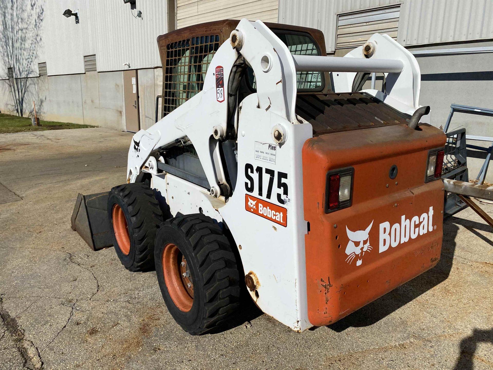 2008 BOBCAT S175 Compact Skid Steer Loader, s/n A3L52070 - Image 5 of 6