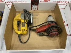 "Lot Comprising (1) MILWAUKEE 1/2"" impact Wrench and (1) DEWALT Jigsaw"