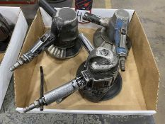 Lot Comprising (3) Pneumatic Angle and Disc Grinders