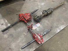 "Lot Comprising (2) Pneumatic Multi-Vane Drills w/ INDEPENDANT Pneumatic 3/4"" Drive Air Ratchet"