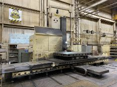 "6"" GIDDINGS & LEWIS G60TX CNC Table Type Horizontal Boring Mill, s/n 450-78-80, w/ G&L 800M CNC"