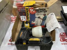 Lot Comprising (2) Wagner Airless Paint Sprayers