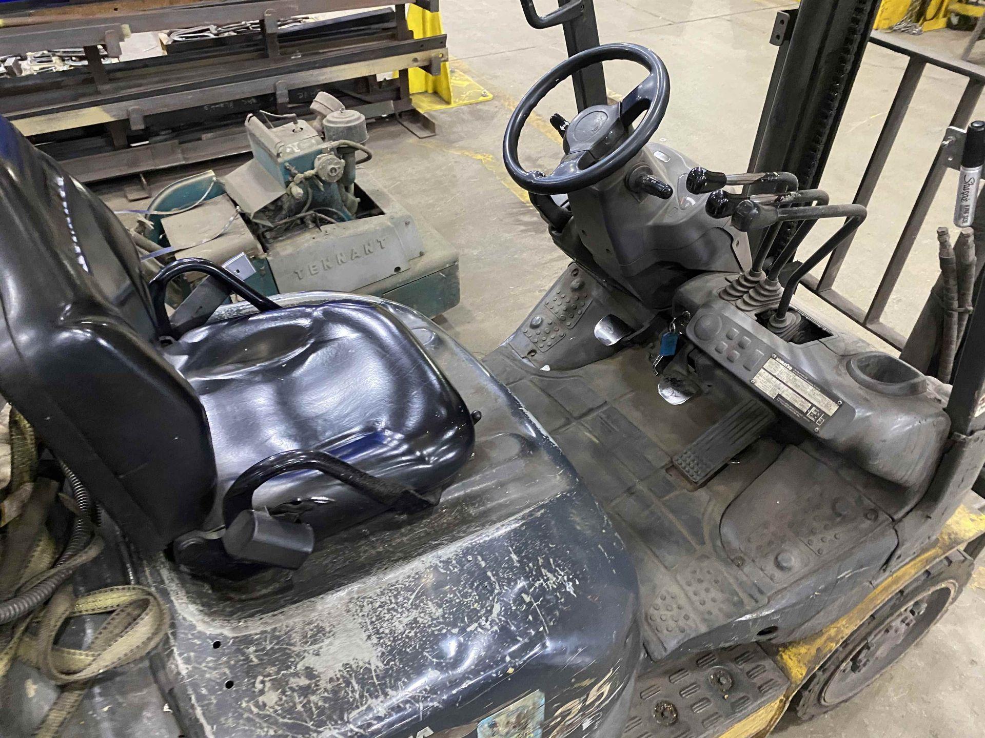 """KOMATSU FG25ST-16 5,000 Lb. LPG Forklift, s/n A234349, Two-Stage Mast, Side Shift, 48"""" Fork - Image 6 of 8"""