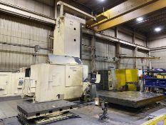 "6"" GIDDINGS & LEWIS H600-FX CNC Floor Type Horizontal Boring Mill, s/n 465-13-91, w/ G&L 8000M CNC"