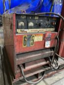 LINCOLN DC-600 Multi-Process Welder, s/n U1930213294, w/ LINCOLN LN-7 Wire Feed and Boom