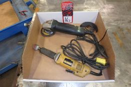 Lot Comprising (1) DEWALT DW887 Electric Die Grinder; (1) METABO WP 11-150 Electric Quick Protect